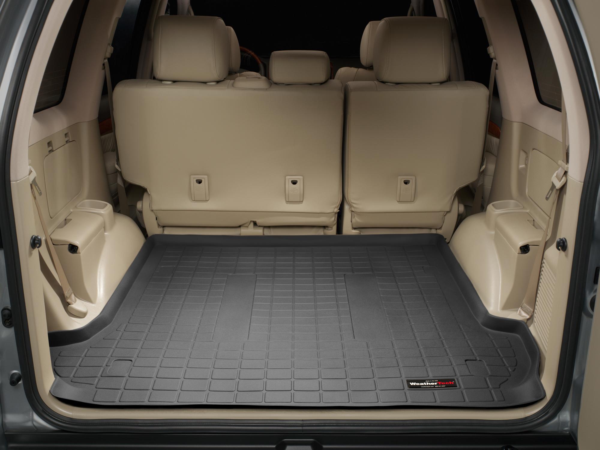 Toyota Land Cruiser 120 125 2002>2009 Vasca baule tappeto marrone *1236
