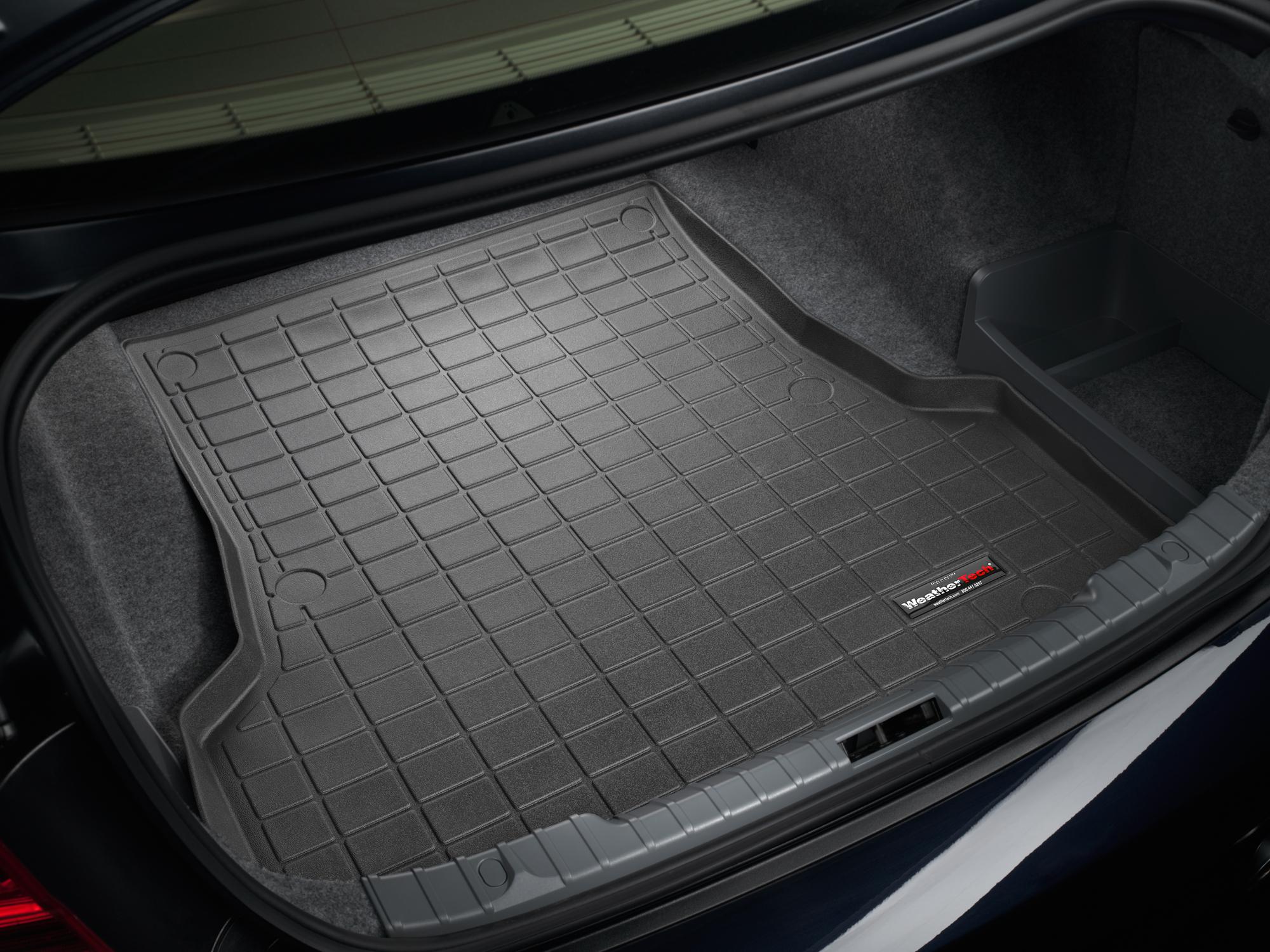 BMW 3-Series 2013>2017 Vasca proteggi baule bagagliaio grigio *163*