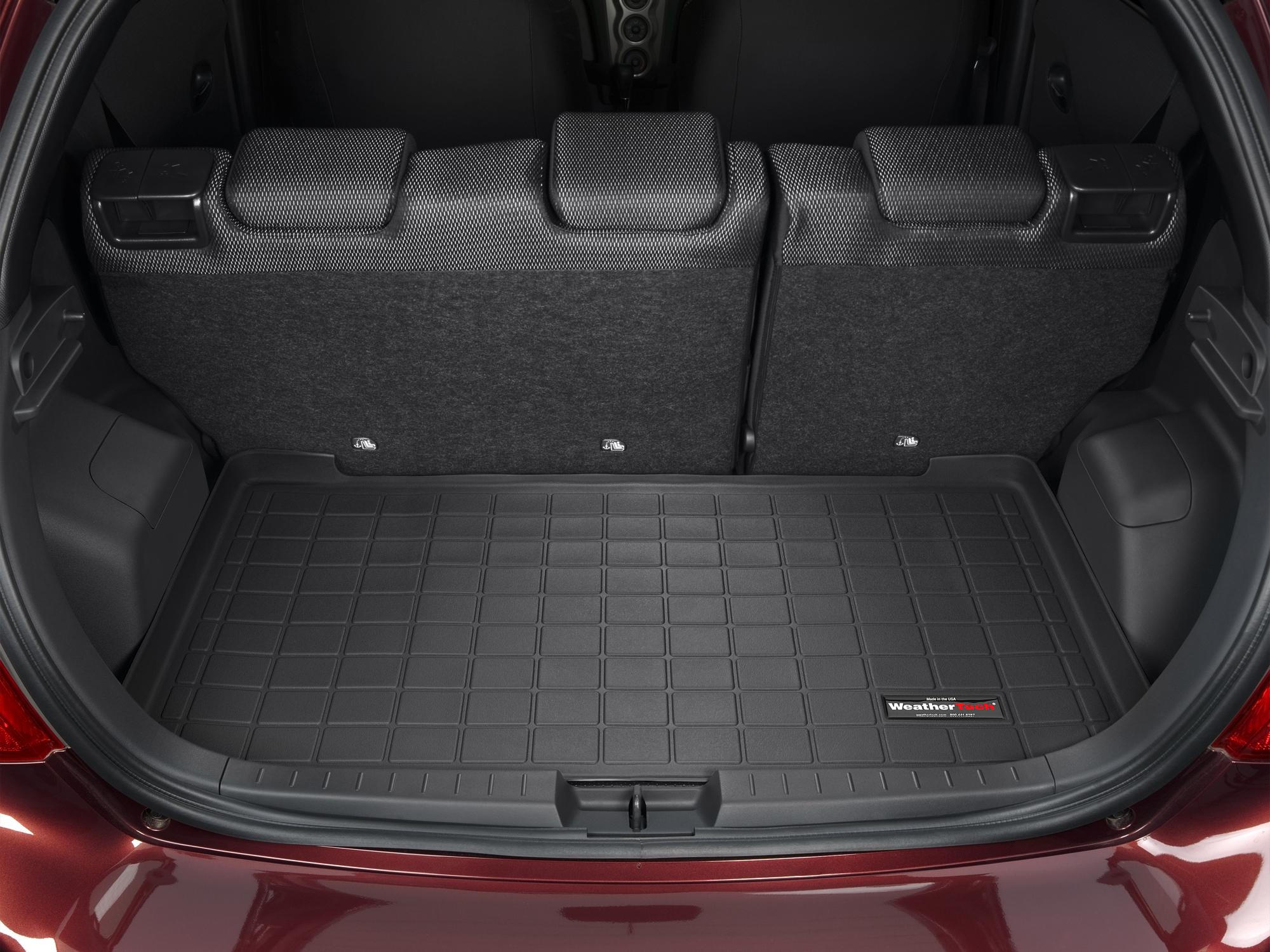 Toyota Yaris 2012>2017 Vasca baule tappeto bagagliaio grigio *1314