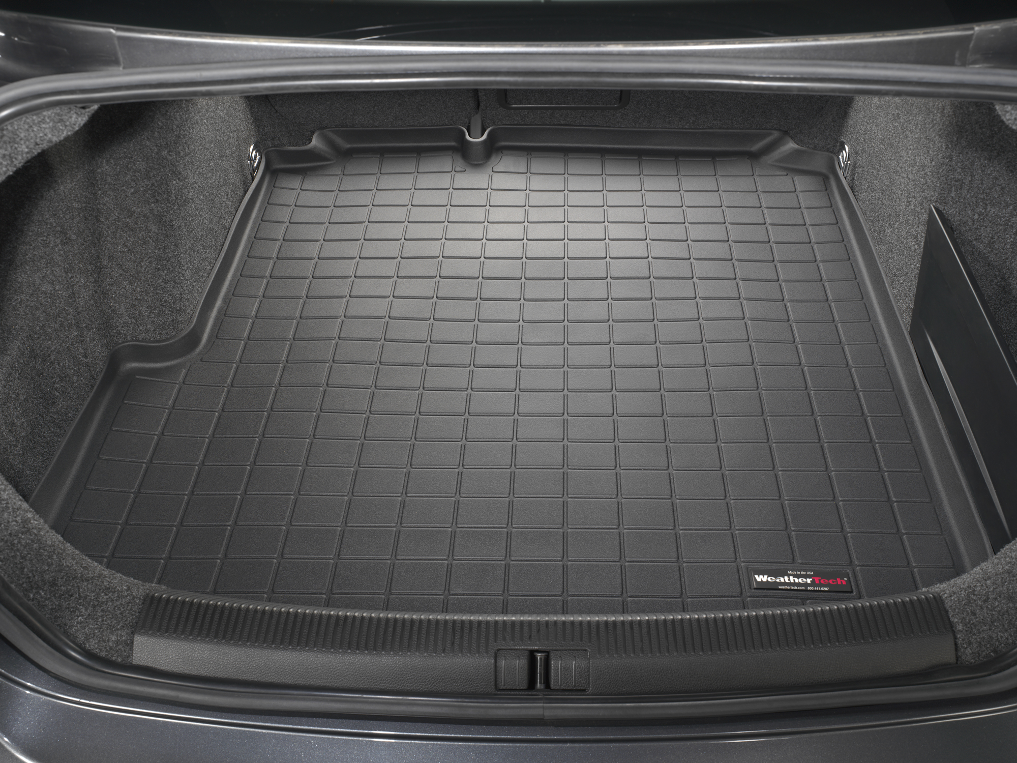 Volkswagen Jetta GLI 2006>2008 Vasca baule tappeto bagagliaio nero *1388