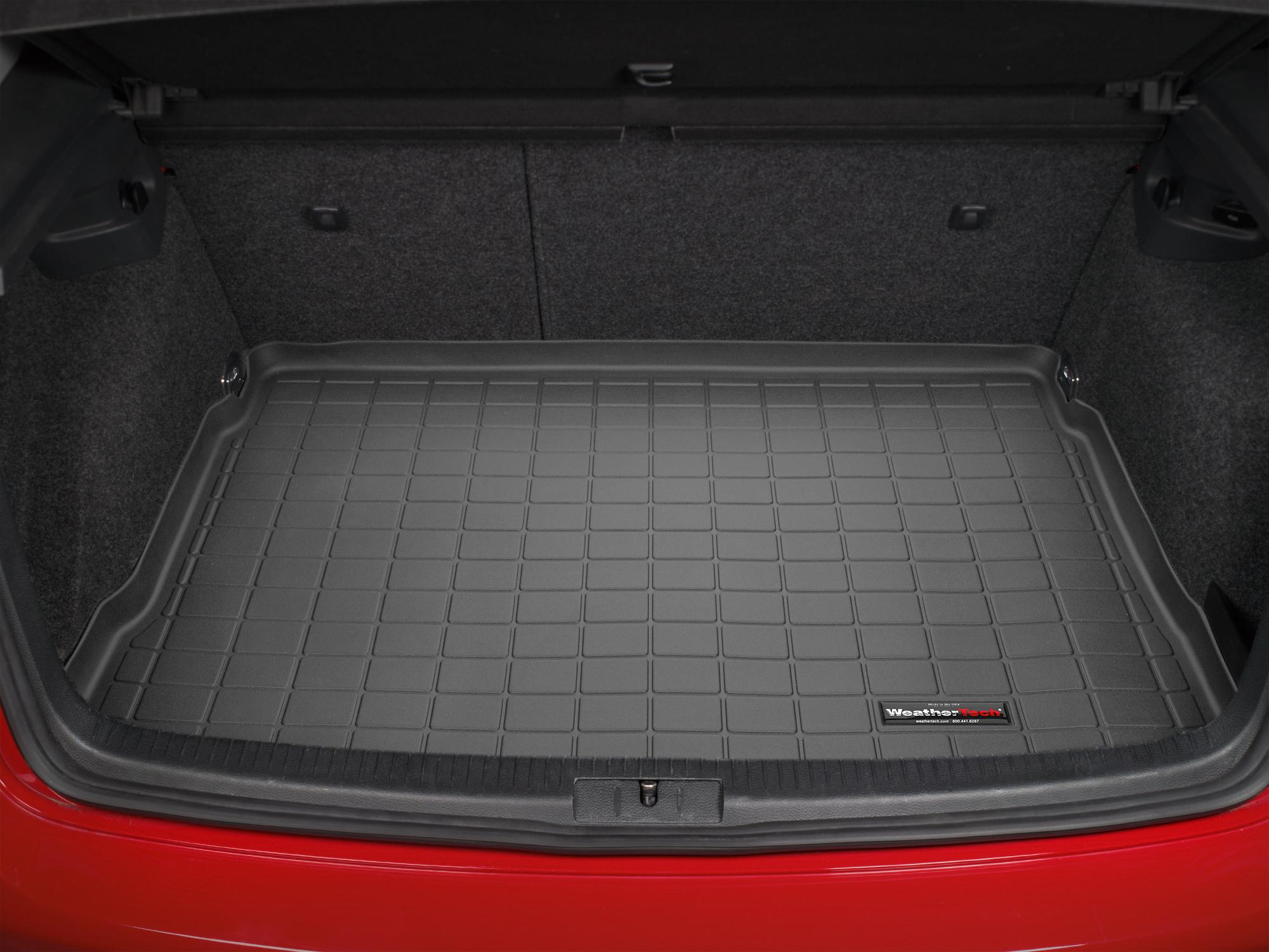 Volkswagen Golf GT 2005>2009 Vasca baule tappeto bagagliaio nero *1349