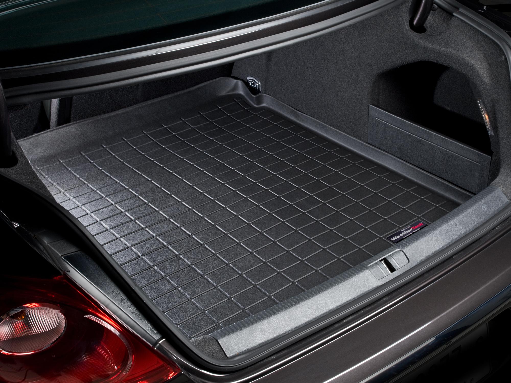 Volkswagen CC 2008>2014 Vasca baule tappeto bagagliaio nero *1325