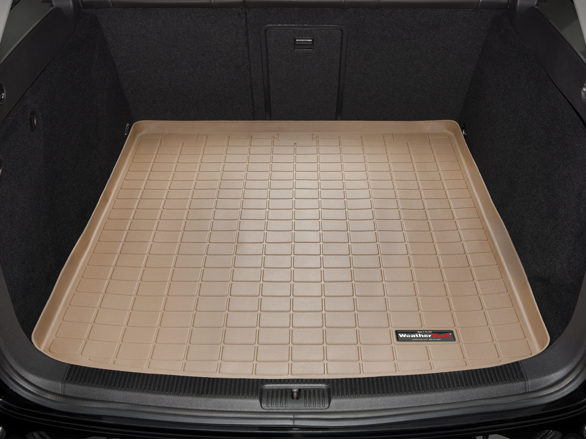 Volkswagen Jetta GLI 2005>2005 Vasca baule tappeto bagagliaio nero *1386