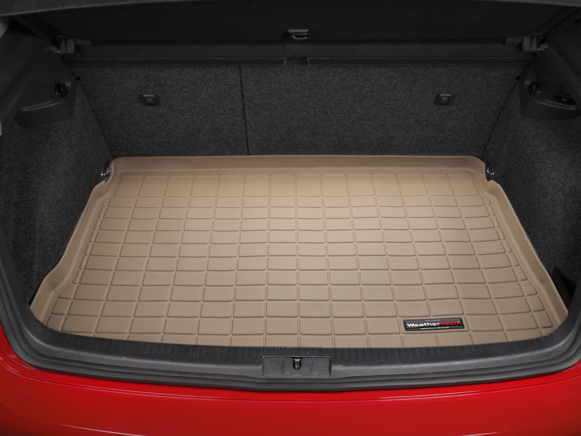 Volkswagen Golf GTI 2004>2004 Vasca baule tappeto bagagliaio nero *1358