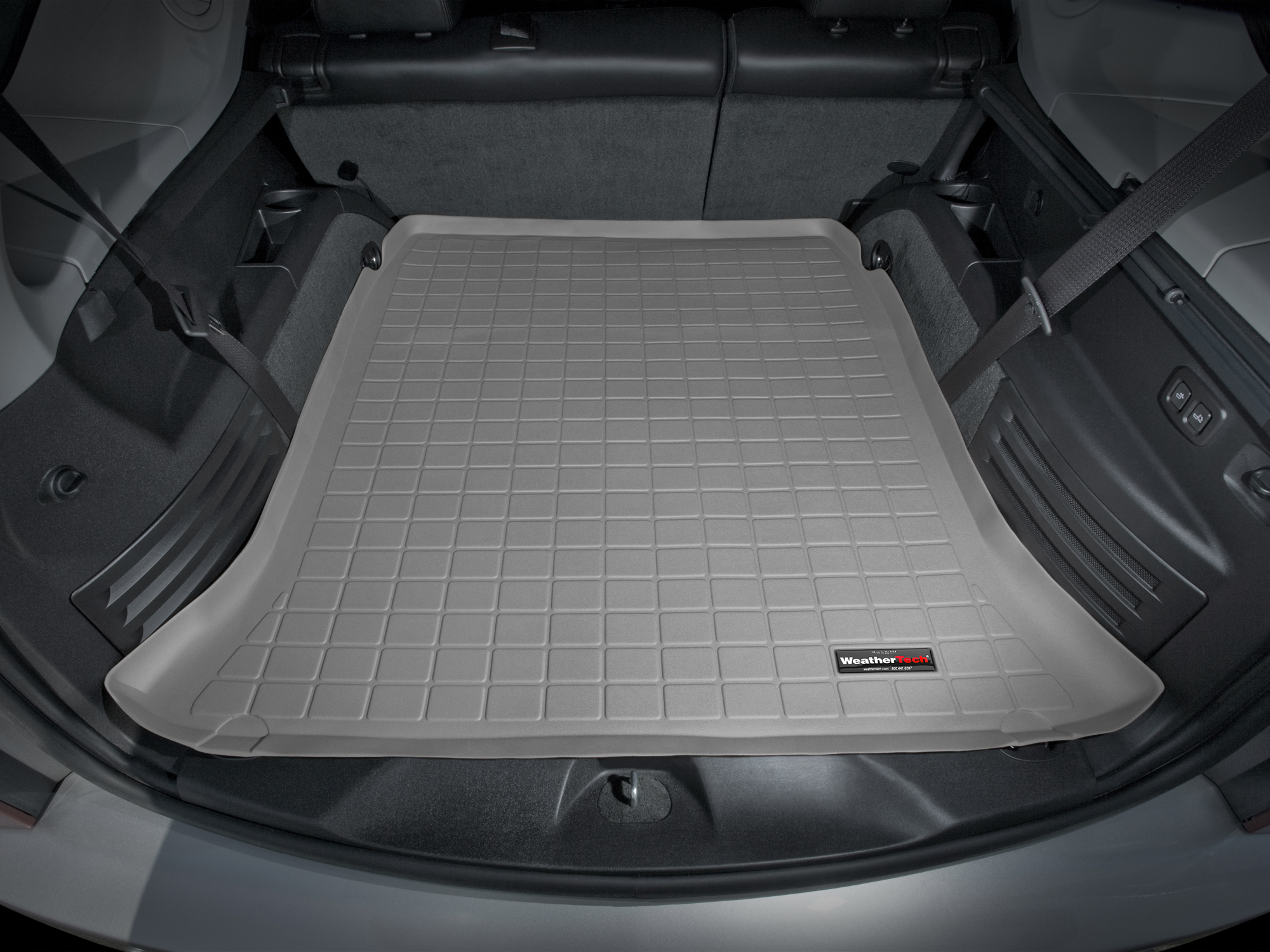 Cadillac SRX 2010>2016 Vasca proteggi baule bagagliaio marrone *301*