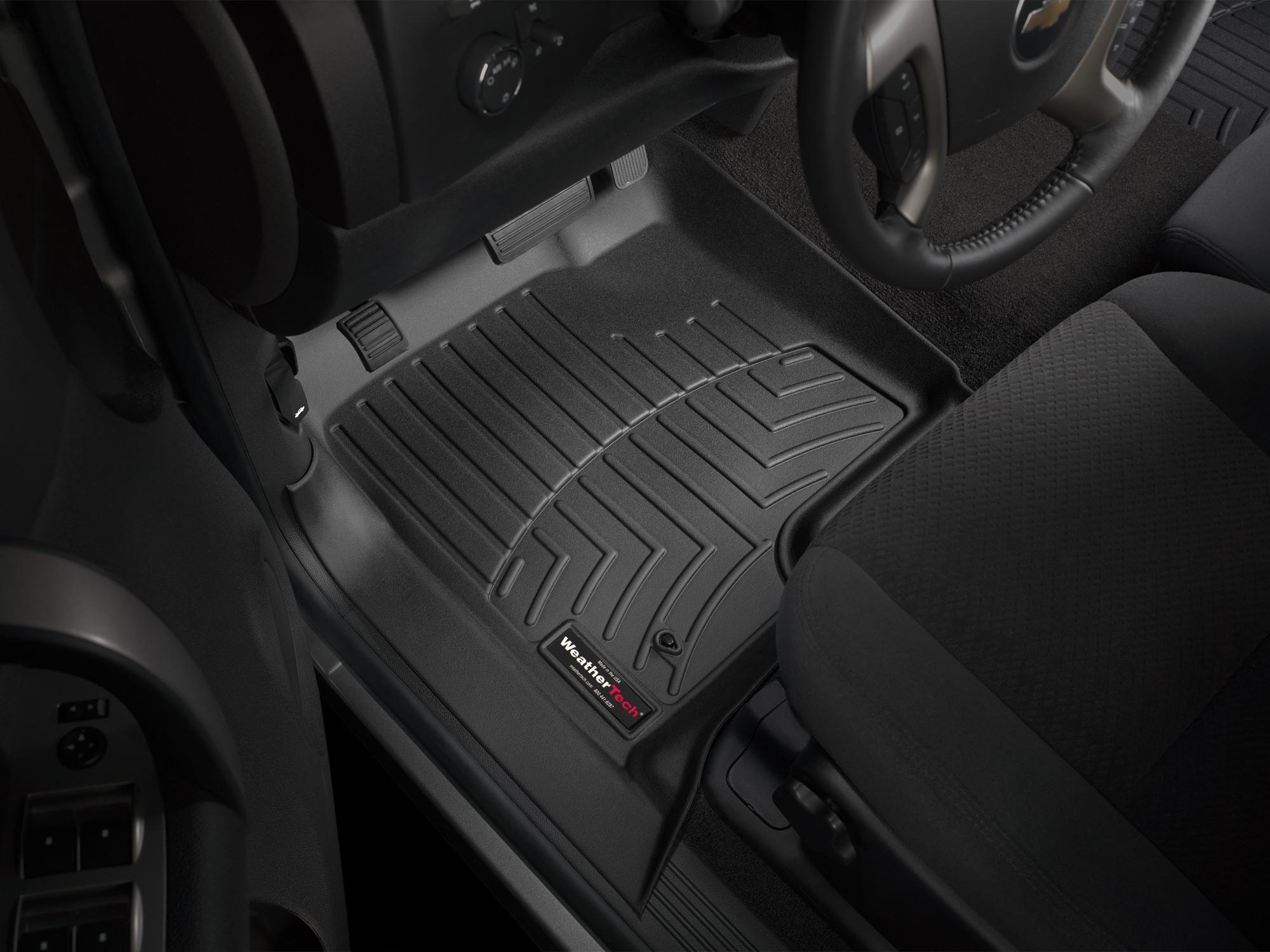 Tappeti gomma su misura bordo alto Chevrolet Silverado 07>07 Nero A167