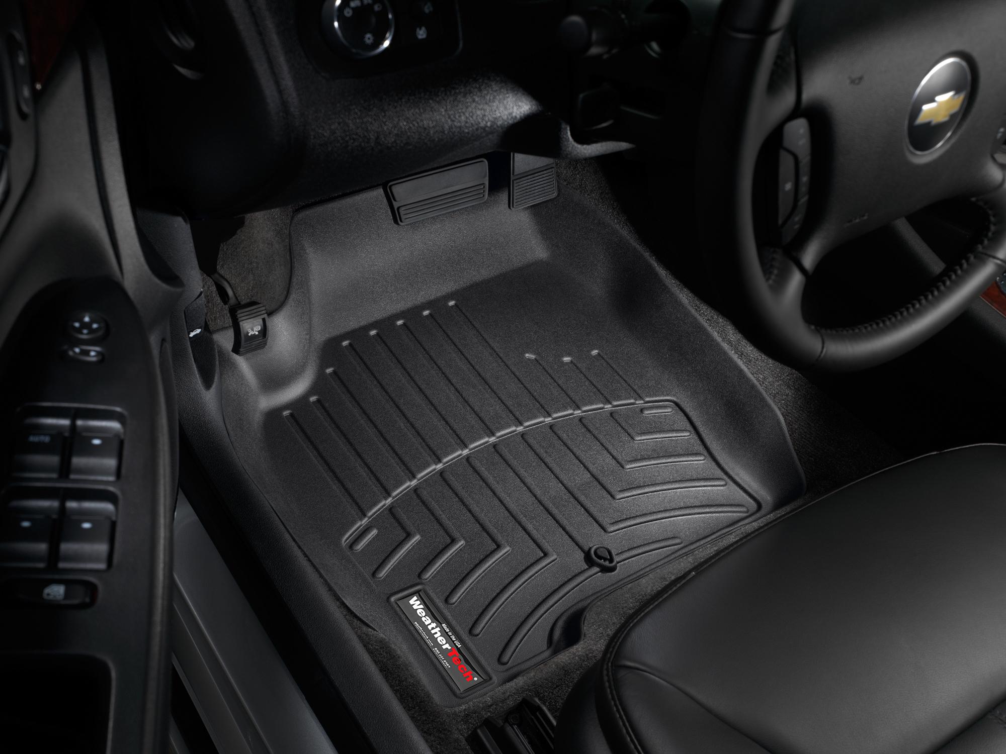 Tappeti gomma su misura bordo alto Chevrolet Impala Limited 14>16 Nero A139