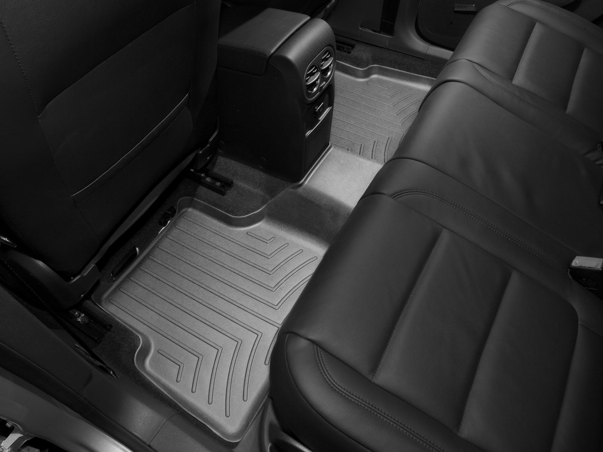 Tappeti gomma su misura bordo alto Volkswagen Tiguan 16>16 Nero A4273*