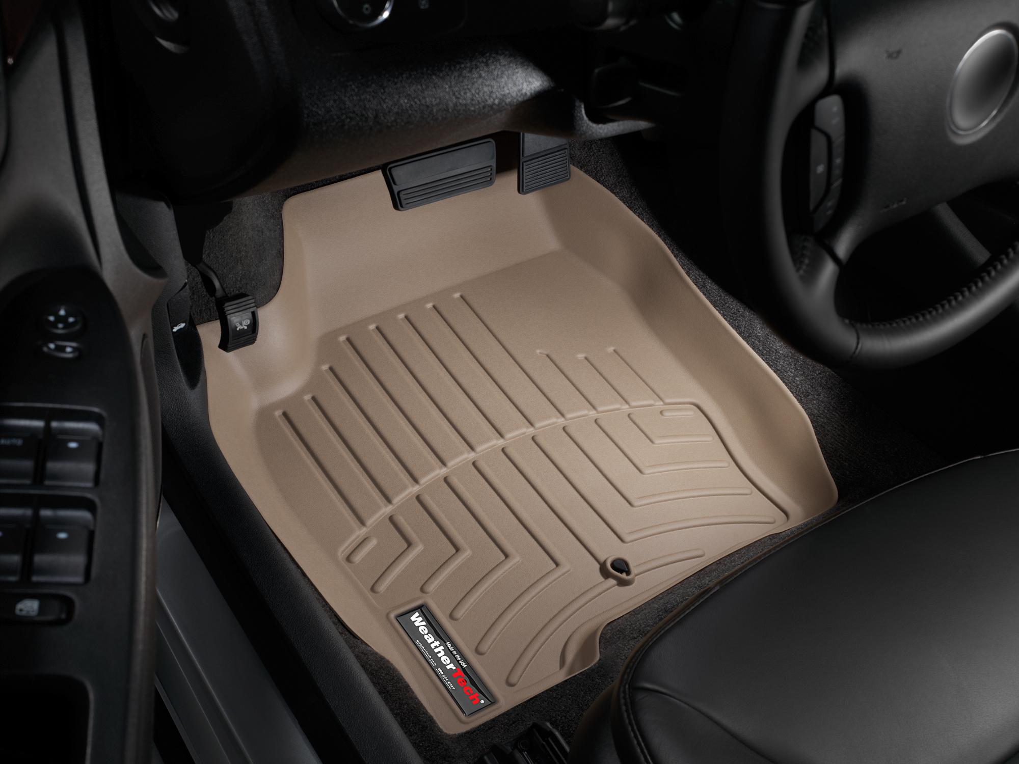Tappeti gomma su misura bordo alto Chevrolet Impala Limit. 14>16 Marrone A133