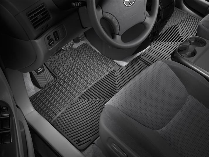 2007 toyota sienna   all-weather car mats - all season flexible