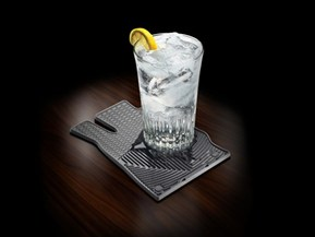 Floor Mat Drink Coasters - Surface Protection