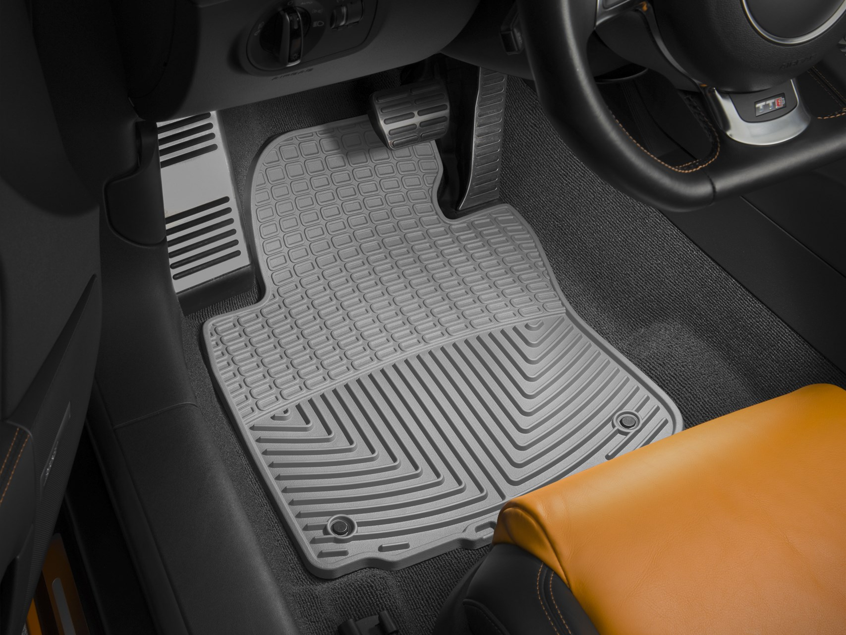 All Weather Car Mats All Season Flexible Rubber Floor