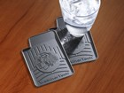 Chicago Blackhawks FloorLiner Drink Coaster BY WEATHERTECH