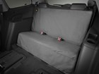 seat protector 3rd row black BY WEATHERTECH