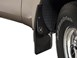 Mudflaps on a 2005 Ford F350 BY WEATHERTECH
