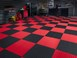 TechFloor Weight Room Floor BY WEATHERTECH