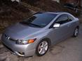 2006 Honda Civic Side Window Deflectors - In-Window-Channel