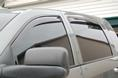 2007 Dodge Ram Truck (DEFUNCT) Side Window Deflectors - In-Window-Channel
