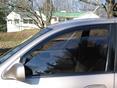 1996 Toyota Avalon Side Window Deflectors - In-Window-Channel