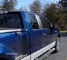 2009 Ford F-150 Side Window Deflectors - In-Window-Channel