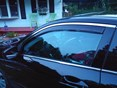 2012 Honda Accord Side Window Deflectors - In-Window-Channel