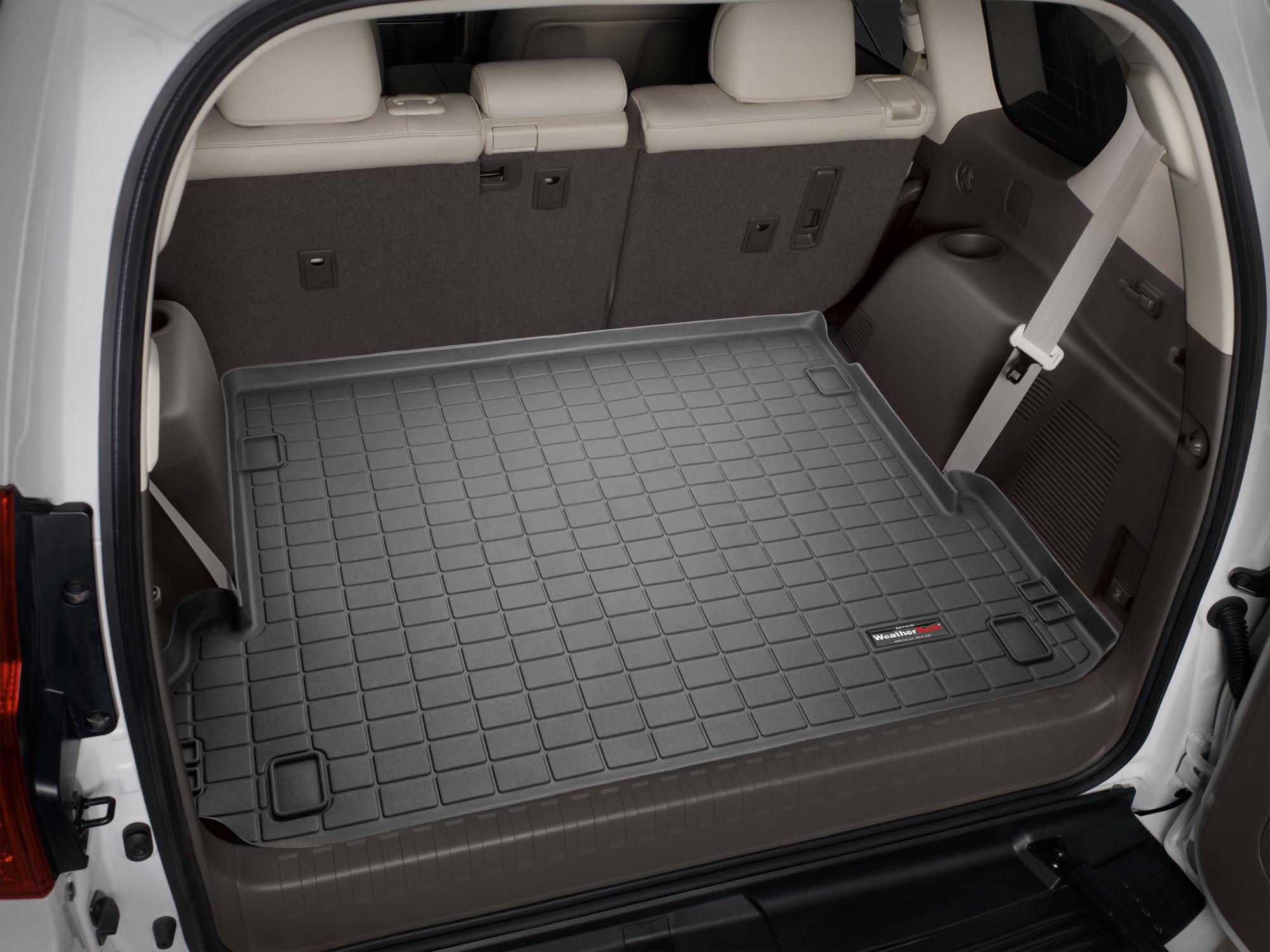Toyota Land Cruiser 150 2010>2017 Vasca baule tappeto bagagliaio marrone *1242
