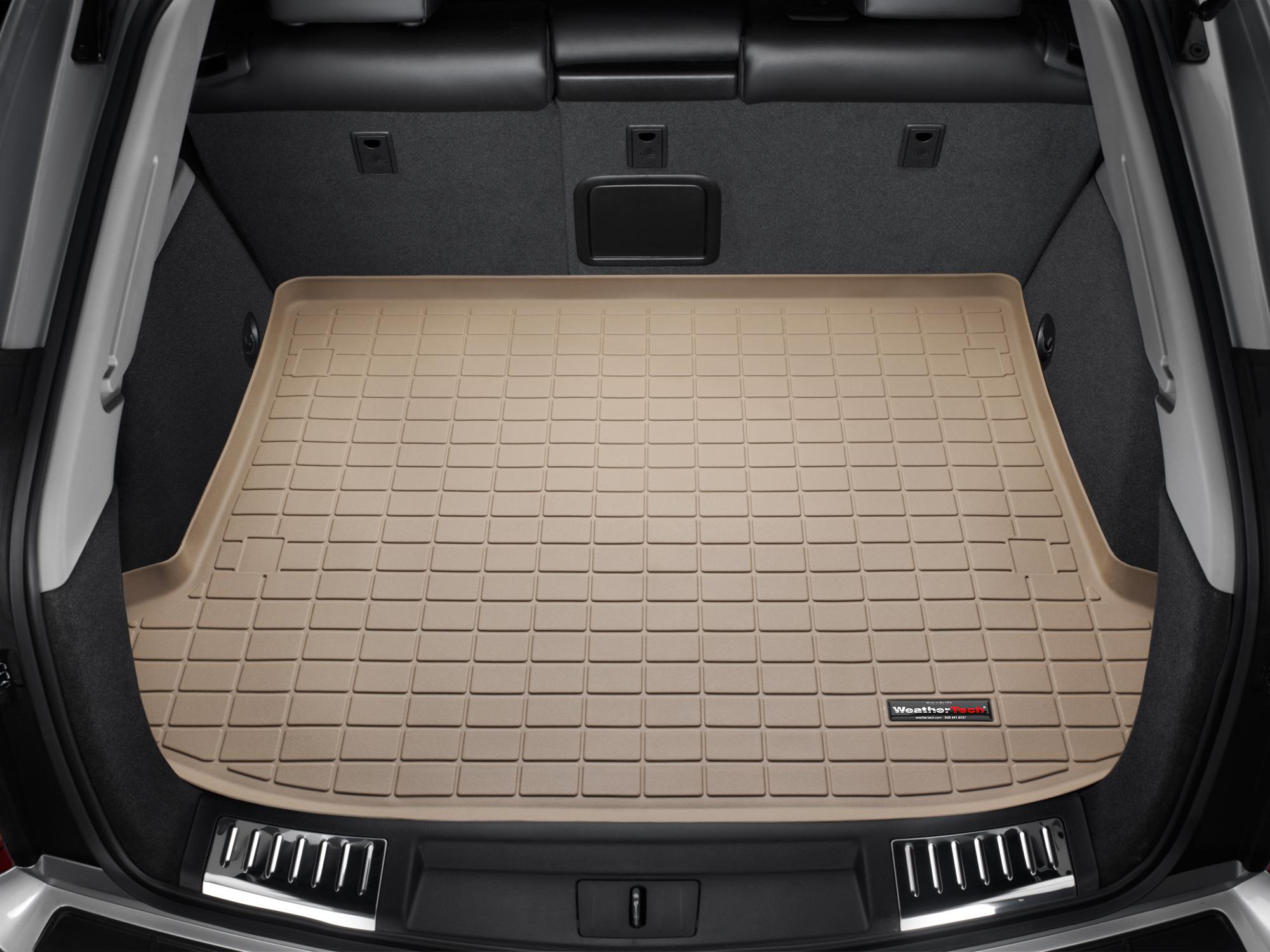 Cadillac SRX 2004>2009 Vasca proteggi baule bagagliaio marrone *297*