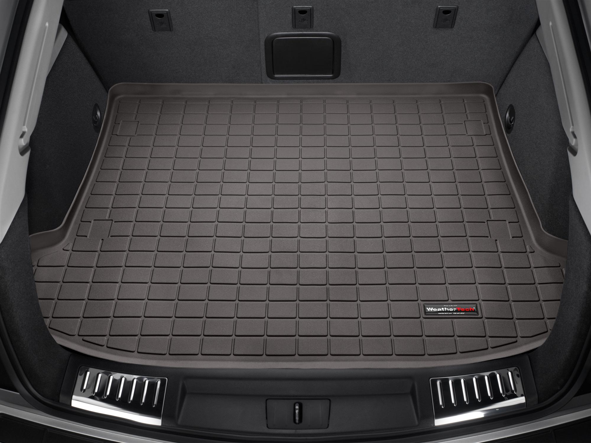 Cadillac SRX 2010>2016 Vasca proteggi baule bagagliaio nero *302*