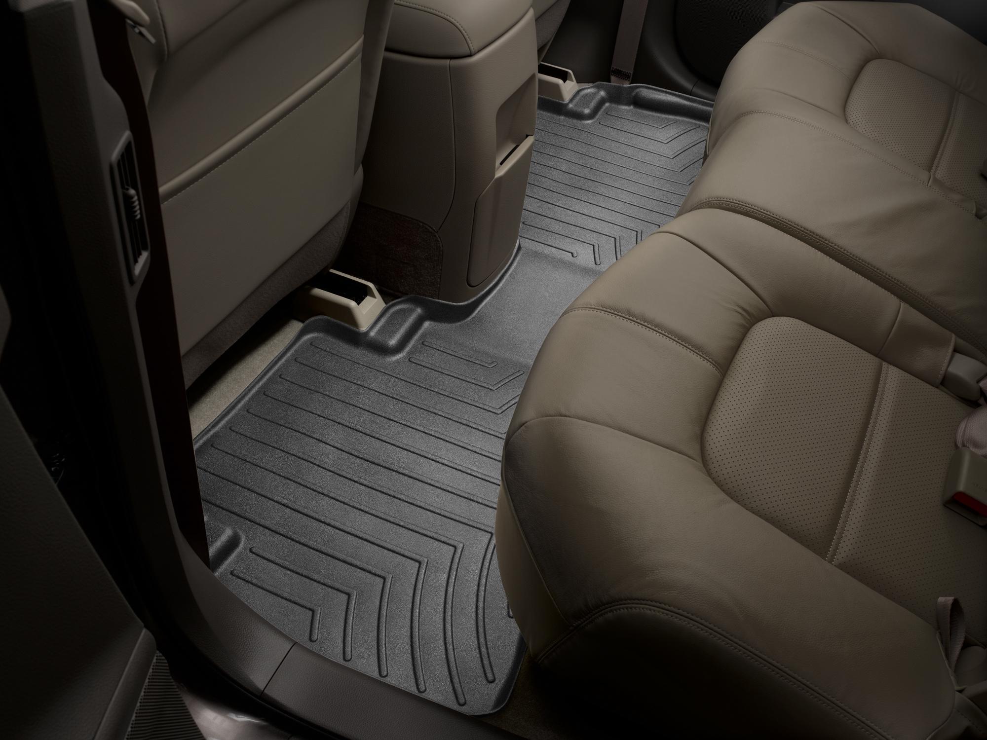 Tappeti gomma su misura bordo alto Nissan Murano 08>14 Nero A2892