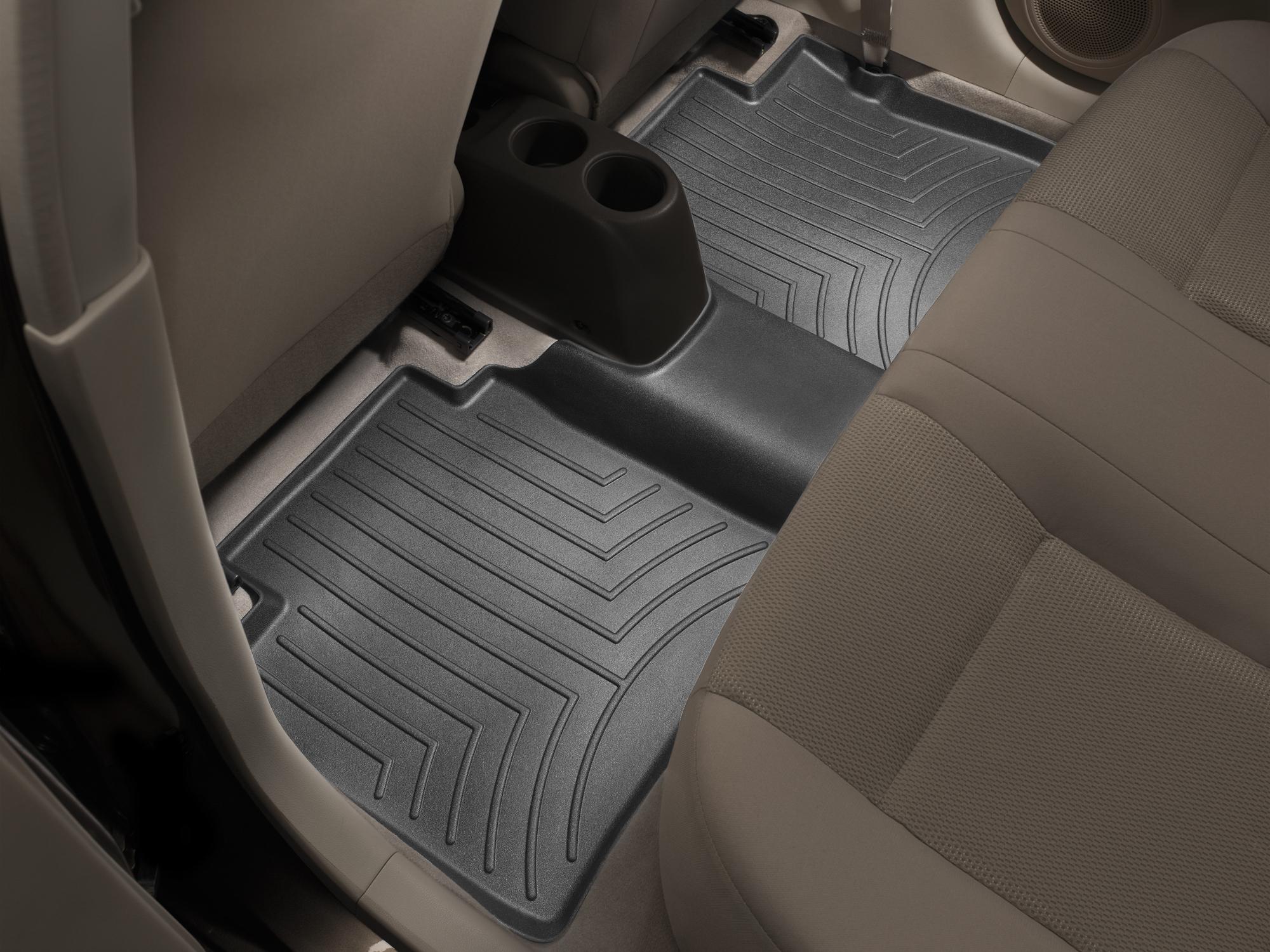 Tappeti gomma su misura bordo alto Nissan Note 14>17 Nero A2906