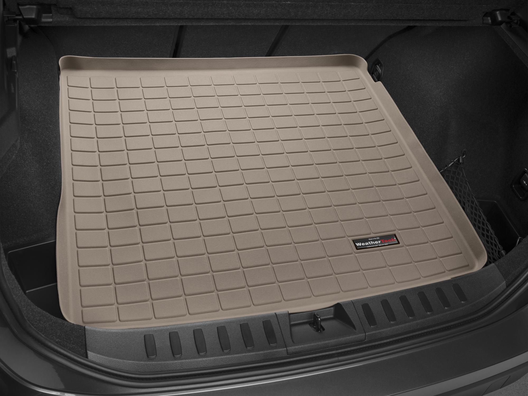 BMW X1 2009>2014 Vasca proteggi baule bagagliaio marrone *205*