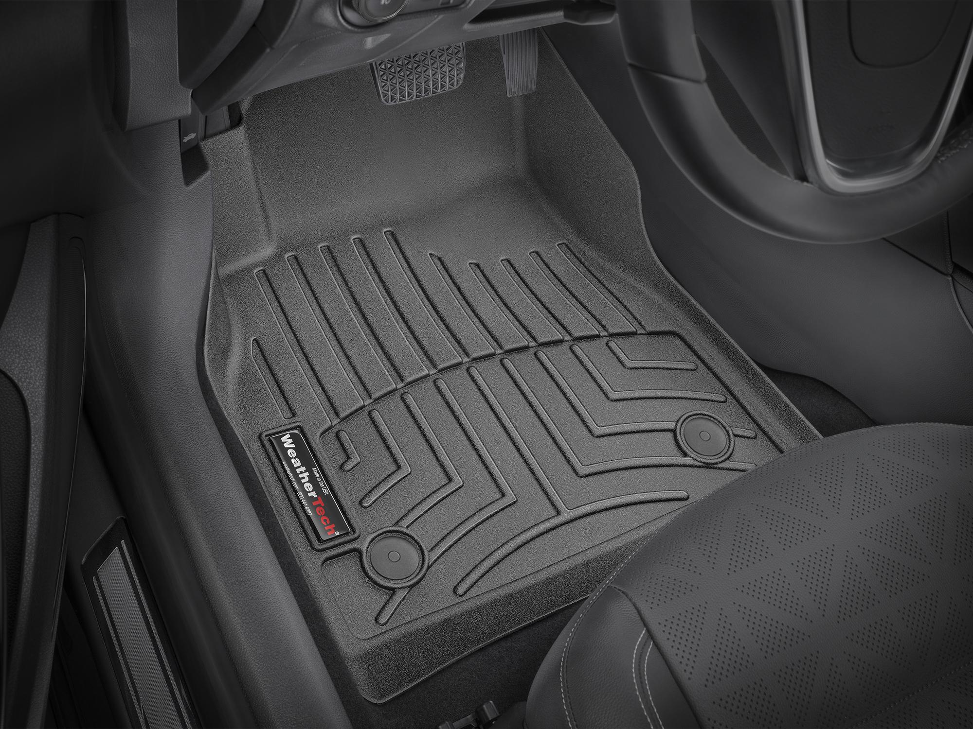 Tappeti gomma su misura bordo alto Opel Astra 10>14 Nero A2966
