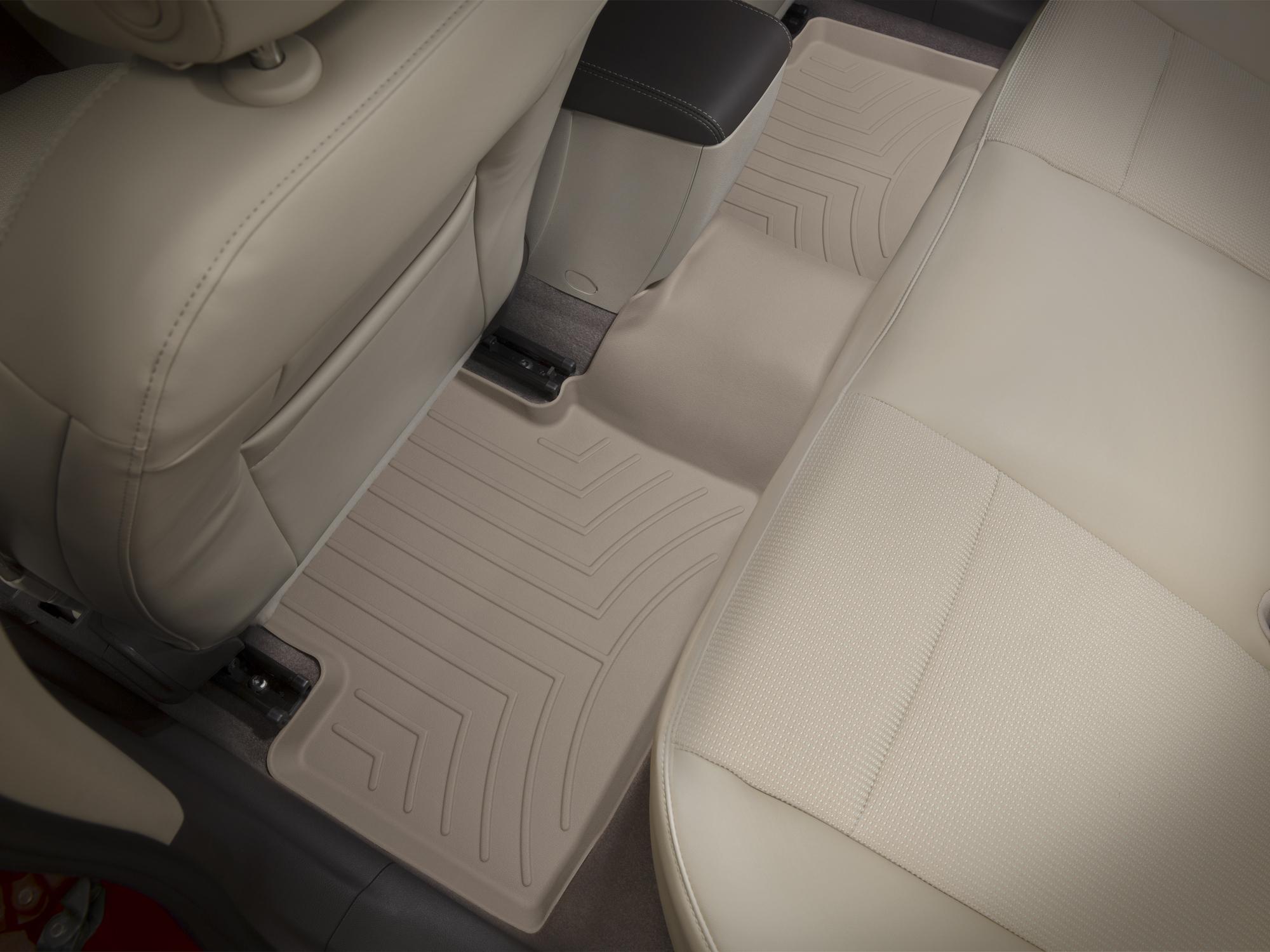 Tappeti gomma su misura bordo alto Chevrolet Malibu 13>15 Marrone A145