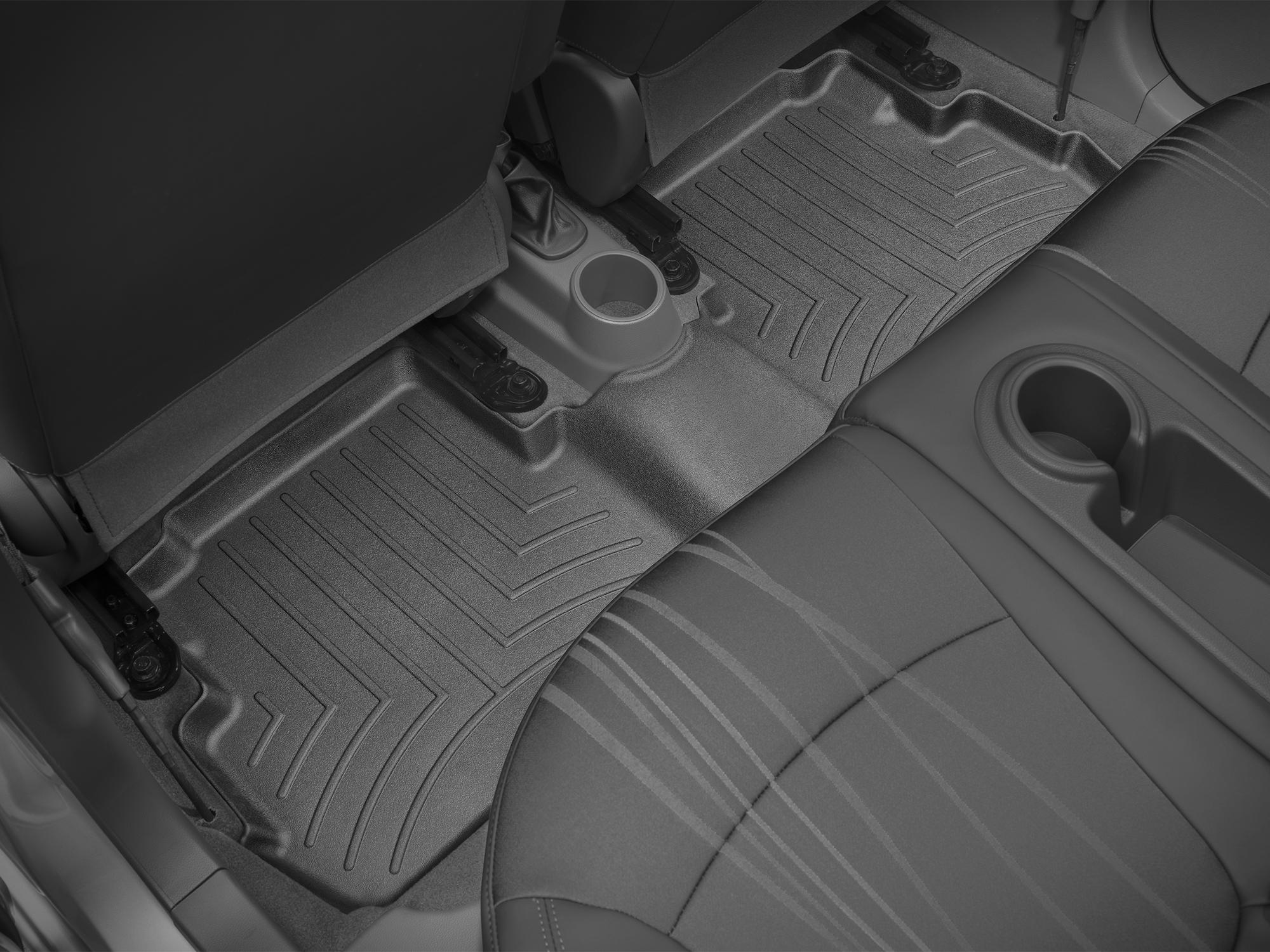 Tappeti gomma su misura bordo alto Chevrolet Spark 10>15 Nero A207