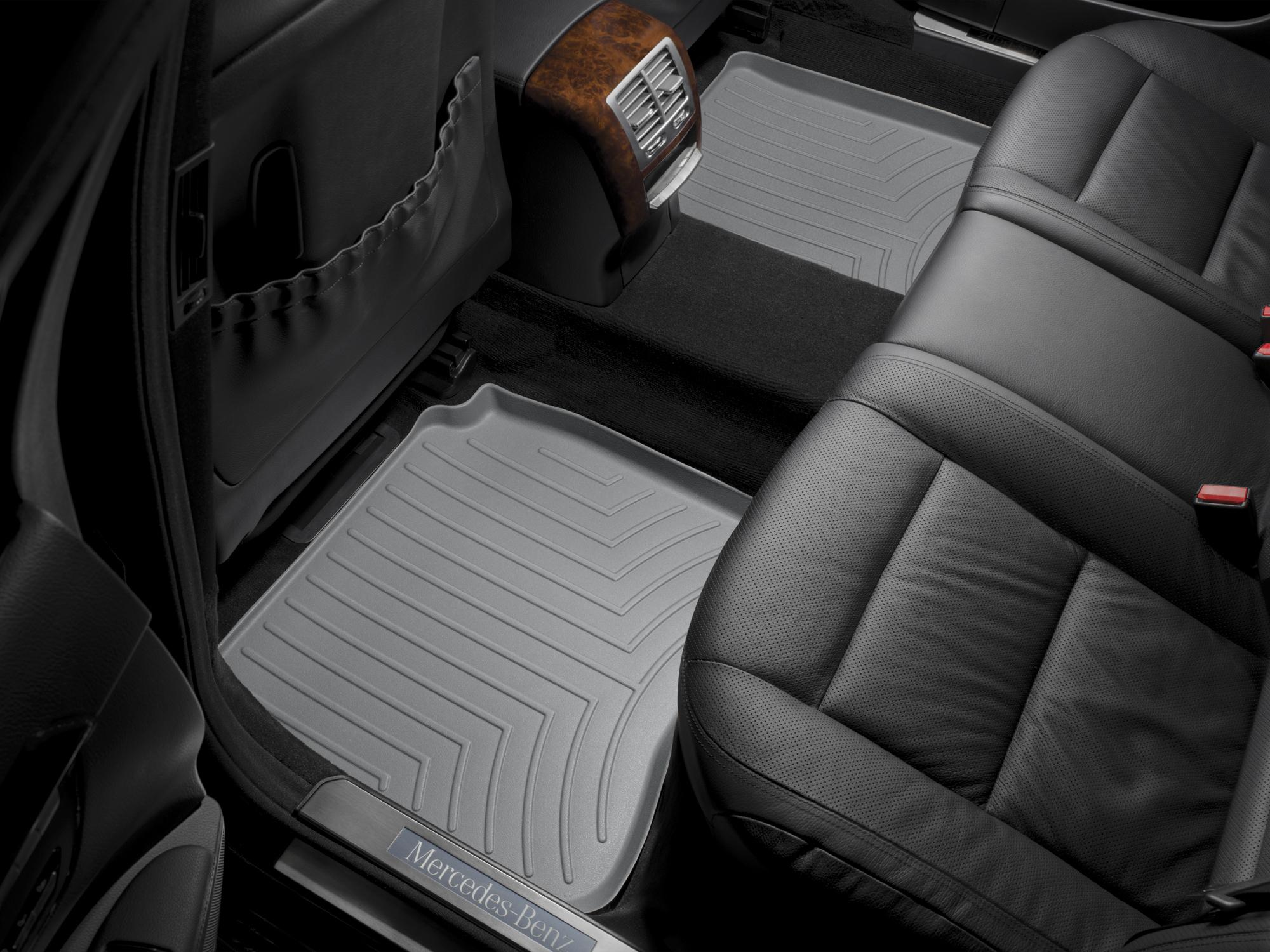 Tappeti gomma su misura bordo alto Mercedes S-Class 06>12 Grigio A2554