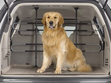 Pet Barrier - Keeps Pets secure in vehicle behind your 2nd or 3rd row seats