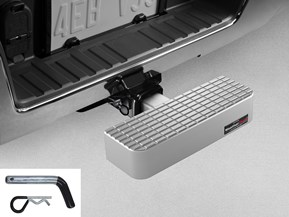 Billet BumpStep - Hitch Mounted Step and Bumper Protection