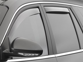 Side Window Deflectors - In-Window-Channel