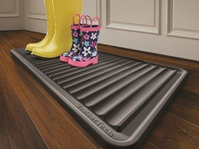 BootTray™ - A Mat for Dirty Boots and Shoes