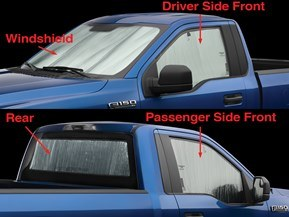 TechShade Windshield and Window Sun Shade
