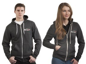 Faded WeatherTech Racing Logo Hoodie