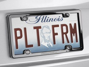 PlateFrame<sup>®</sup> License Plate Frame