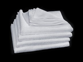 Super White Microfiber Cleaning Cloth