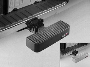 BumpStep<sup>®</sup> - Hitch Mounted Step and Bumper Protection