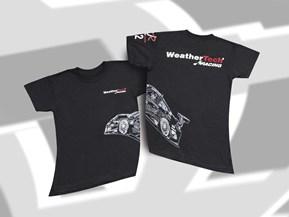 Design -Eingeprägtes Auto - Kinder Shirt mit kurzen Ärmel