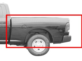 2016 Dodge Ram Truck 1500  UnderLiner Bed Liner for Truck Drop in