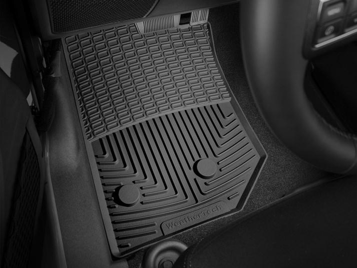2016 jeep wrangler   all-weather car mats - all season flexible