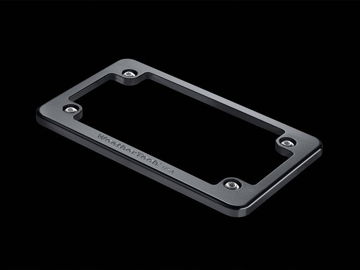 billet motorcycle license plate frame