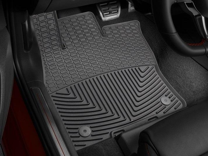 2016 volkswagen golf all weather car mats all season flexible rubber floor mats. Black Bedroom Furniture Sets. Home Design Ideas