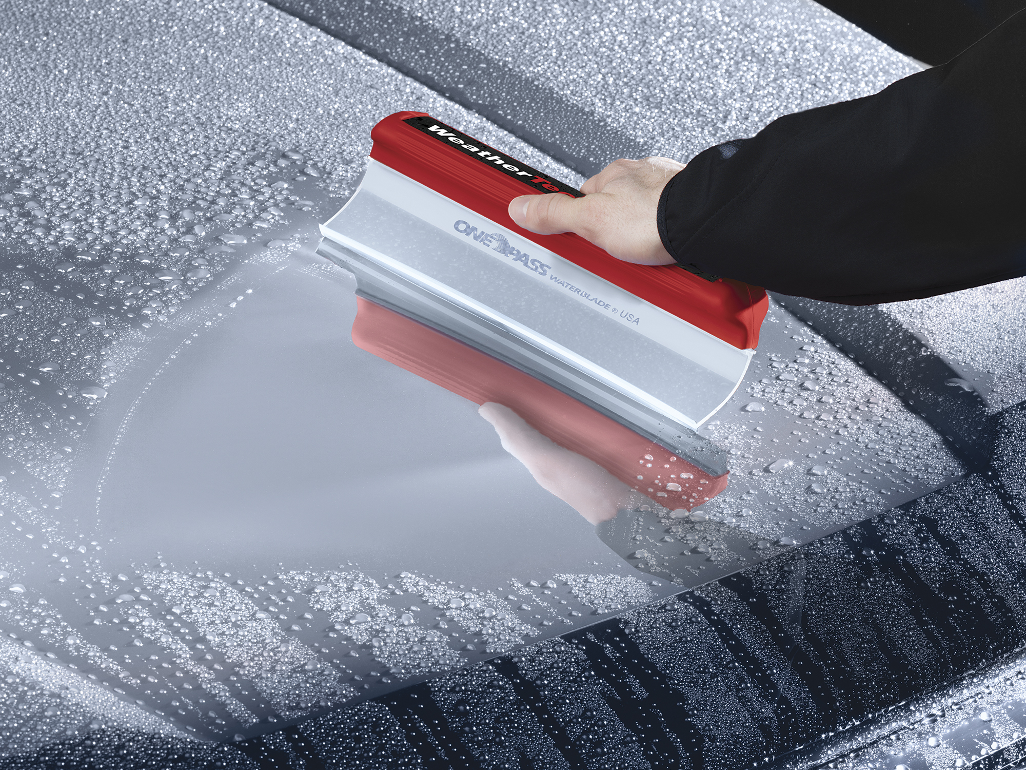 Weathertech mats cleaner - Squeegee Silicone Waterblade Squeegee For Quickly Drying Almost Any Surface